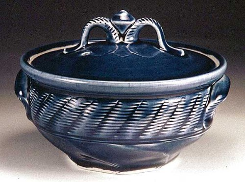 Stoneware Tureen & Laddle